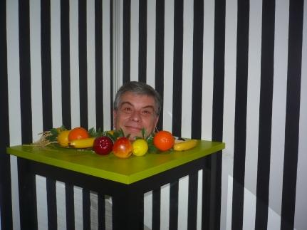 La testa sul piatto